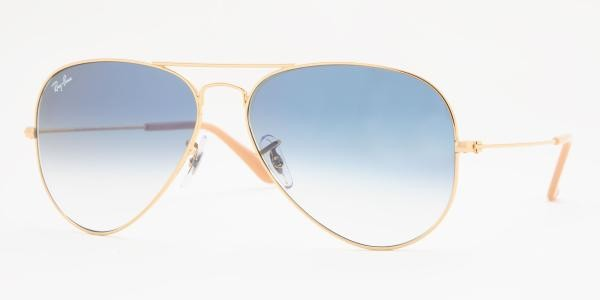 arista ray ban 8ogj  Ray Ban RB3025 Aviator Sunglasses Arista Frame Crystal Yellow Le